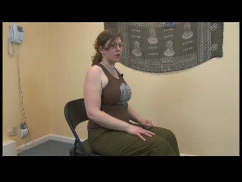 Chair Yoga : Chair Yoga: Camel Pose
