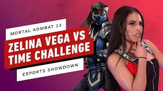 Zelina Vega Races The Clock In Mortal Kombat 11 - IGN Esports Showdown