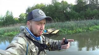 Рыбалка на летнюю мормышку боковой кивок спасение рыбы из сети