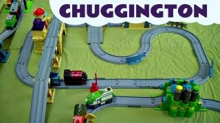 Interactive Chuggington MASSIVE SET with Brewster Koko Calley Irving  & Old Puffer Pete Kids Toy