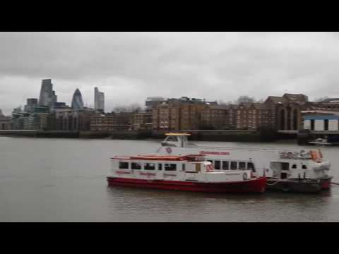 The Thames Path: London Bridge to Greenwich (South Bank Route) 21 February 2017