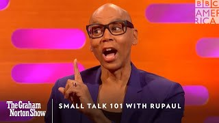 Small Talk 101 with RuPaul | The Graham Norton Show | Friday, October 4 at 11pm | BBC America