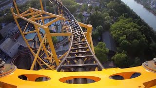 WATCH: See how Kennywood's Steel Curtain looks from the front seat
