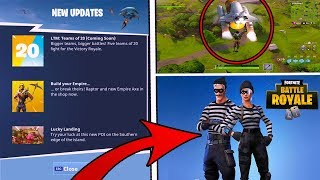"Fortnite Battle Royale NEW UPDATE ""5 TEAMS OF 20"" CONFIRMED! New SKIN & MORE IDEAS!"