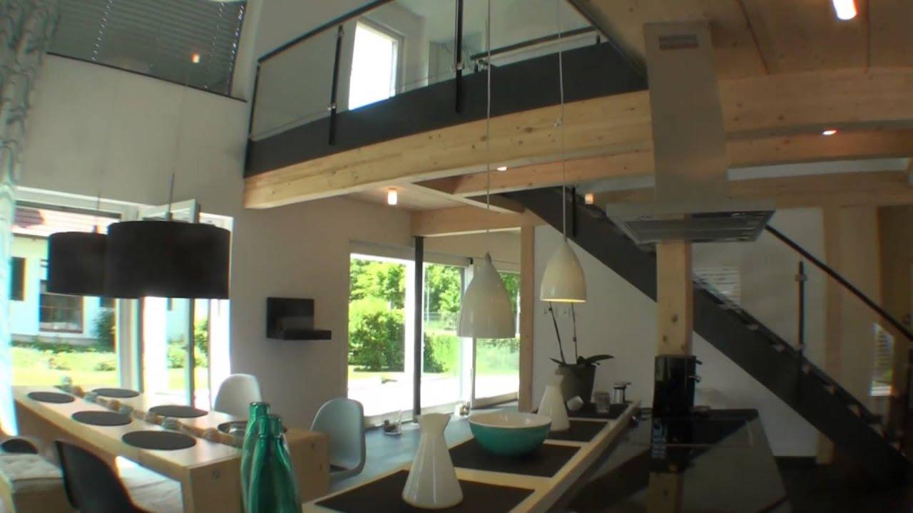 Musterhaus modern  Lehner Haus Musterhaus Ulm am Messegelände - YouTube