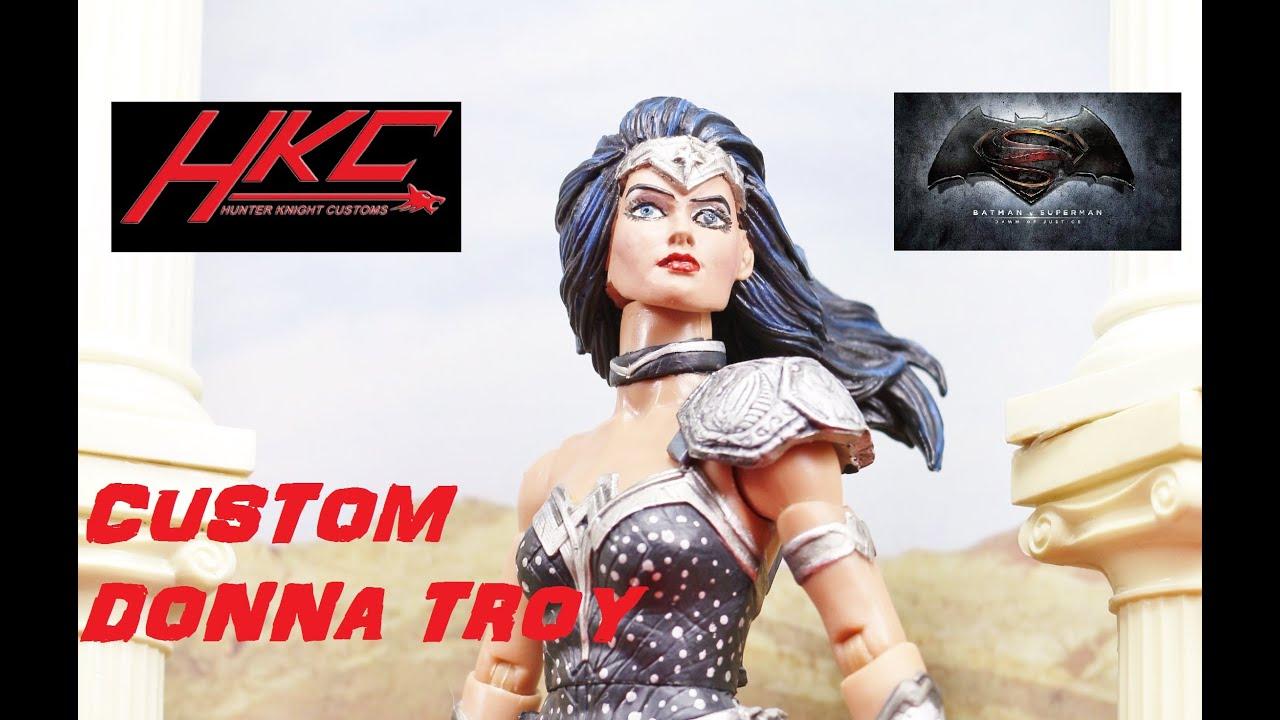 Unique Batman Vs Superman Bedroom Ideas That Rock: Custom Batman V Superman Style DONNA TROY Dc Multiverse