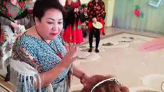 Креативное поздравление от коллег Цыганский танец