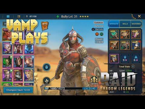 RAID: Shadow Legends | Bully (Meme Champion) | Vamp Plays