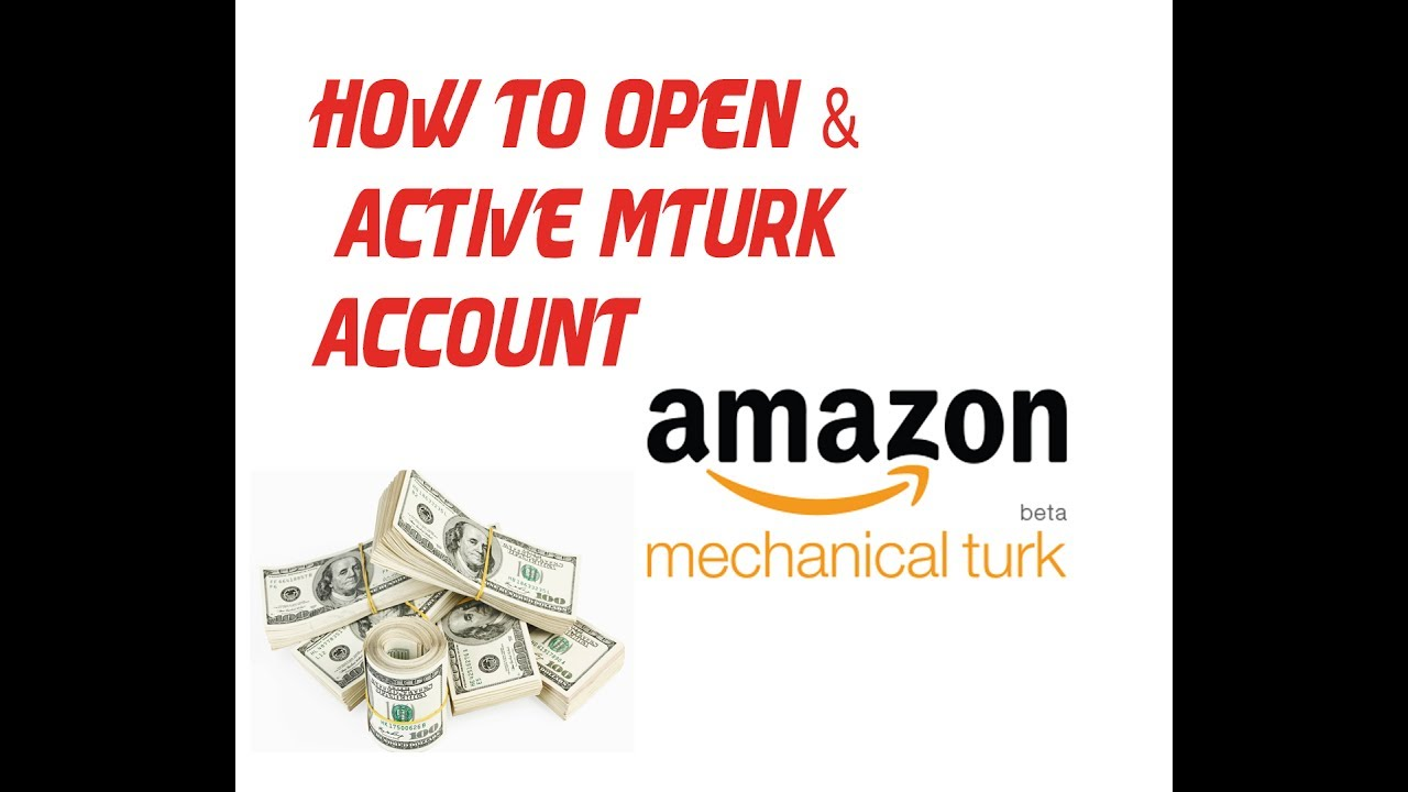 How To Create and Activate A Mturk Account 2017