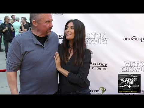 Kane Hodder and Tamara Feldman at the Hatchet' 10th Anniversary Celebration at ArcLight Theatre in H