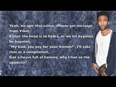Childish Gambino - 3005 - Lyrics