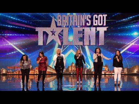 Britain's Got Talent 2015 S09E07 The HoneyBuns Fantastic Performance of It's Raining Men
