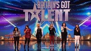 Britain S Got Talent 2015 S09E07 The HoneyBuns Fantastic Performance Of It S Raining Men