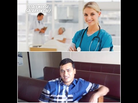 Staff Nurse Salary in Dubai, Saudi Arabia, Qatar, Kuwait and Bahrain