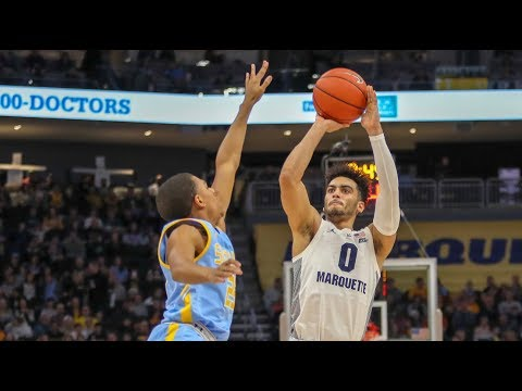 Marquette Courtside - Marquette blasts Southern University 84-41