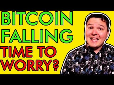 BITCOIN PRICE PLUMMETS, SHOULD YOU BE WORRIED?