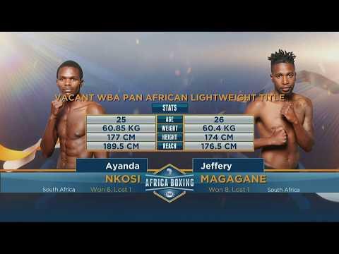 Ayanda Nkosi v Jeffery Magagane | Fox Africa Boxing Championships