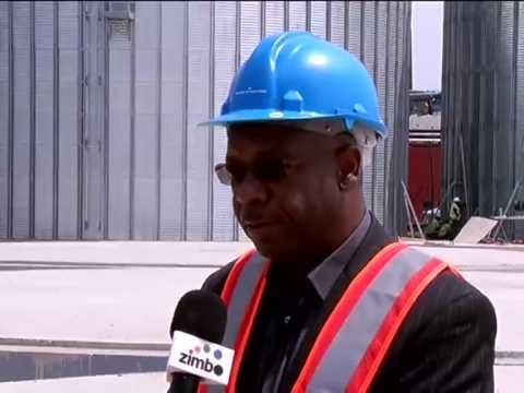 Porto de Luanda ganha 2 silos | Primeiro Jornal | TV Zimbo |