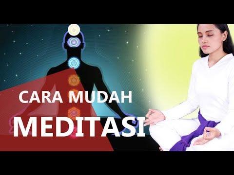 Cara Mudah Meditasi -  Cara Meditasi Paling Praktis yang Bisa Dilakukan Sendiri Di Rumah