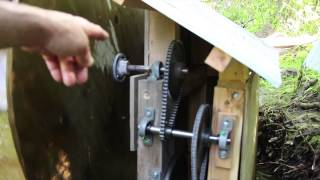Waterwheel To Produce Electricity