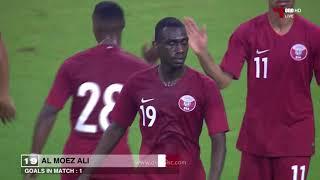 هدف المعز علي | قطر 1 - 0 الصين | مباراة ودية