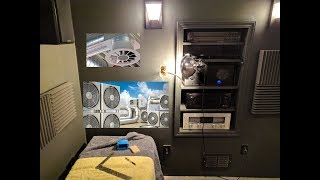 home theater [update 12] - equipment ventilation, 2nd projector, seating, and door changes!