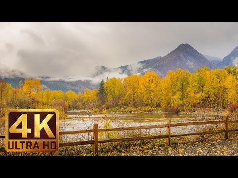 Beautiful Washington/Scenic Nature Documentary Film About WA-Part 5 (Autumn)in 4K-TRAILER