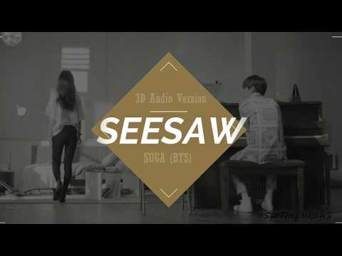 [BTS (방탄소년단)Seesaw-SUGA] 3D? 5D? IDK but this sounds like he is singing to you in an empty hall :')