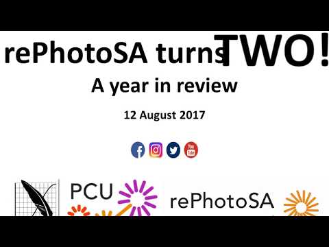 rePhotoSA Turns TWO_12 Aug 2017