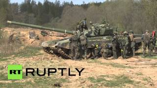 Russia: Airsoft players restage WWII battle for Sevastopol