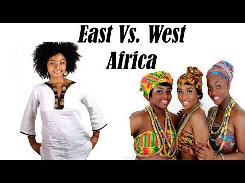 East vs West African Women