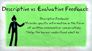 Effective Feedback and Formative Assessment