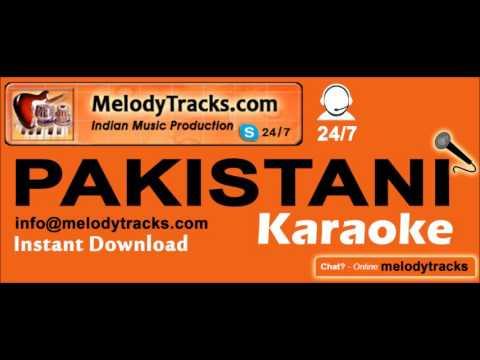 Naina Re Naina Tum Hi Bure | Pakistani Karaoke | Naseem Begum | MelodyTracks