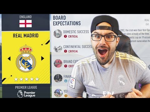 WHAT IF REAL MADRID PLAYED IN PREMIER LEAGUE! FIFA 17