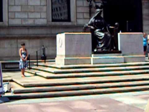 Boston Public Library Flash-mob Aug 12, 2010