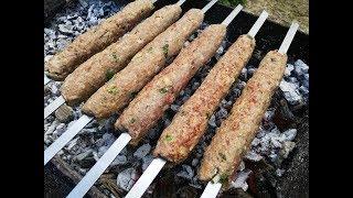 Как приготовить люля кебаб на мангале в домашних условиях, пошаговый рецепт