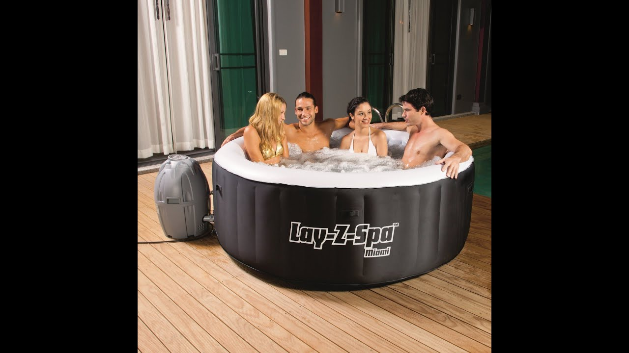 airjet inflatable hot spa lay paris tub z gadget portable petagadget