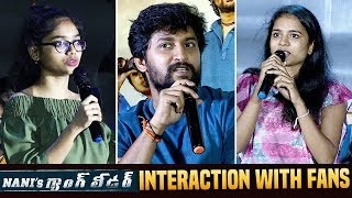 Nani's Gang Leader Team Funny Interaction With Fans | Priyanka Arul Mohan | Vikram Kumar