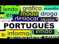 3000 Portuguese Words With Pronunciation