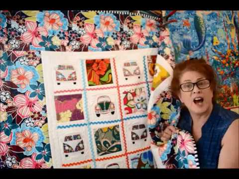 EPISODE 36 - Show and Tell Time - Using Rick Rack on a Quilt!