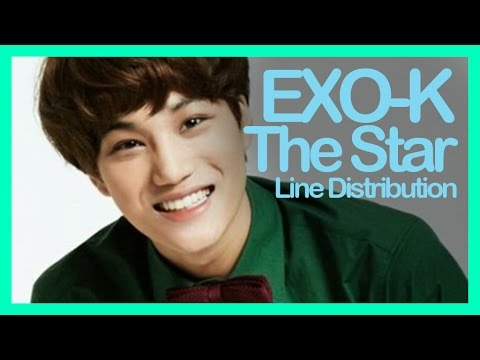 [Line Distribution] EXO-K - The Star