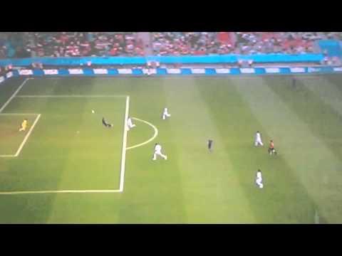 Robin Van Persie Goal Diving Header Netherlands vs Spain World cup 2014