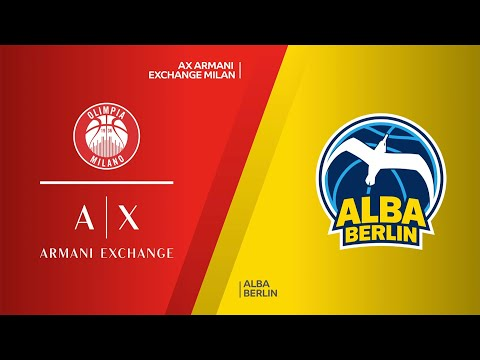 AX Armani Exchange Milan - ALBA Berlin Highlights | Turkish Airlines EuroLeague, RS Round 6