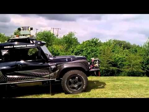 Bowler WildCat Driving Around The Begbroke Site