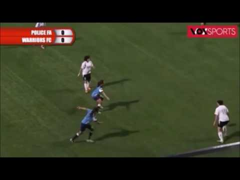 FAS Women's Challenge Cup Final 2015  Warriors FC vs Police SA cut