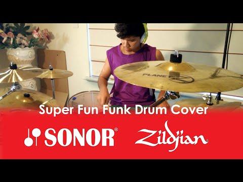 Super Fun Funk - Drum Cover