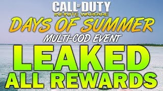 The Days of Summer Event Rewards/Unlocks have all been leaked! Take...