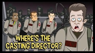 Ghostbusters Alternate Cast - The Cutting Room