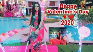 Happy Valentine's Day🌹❤️สุขสันต์วันวาเลนไทน์นะคะ❤️🌹#ปาร์ตี้ริมสระน้ำที่โรงแรม #Phuket #Thailand