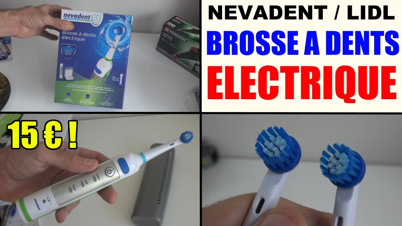 brosse a dent electrique lidl nevadent dazd 3 7 test avis prix notice caract ristiques youtube. Black Bedroom Furniture Sets. Home Design Ideas